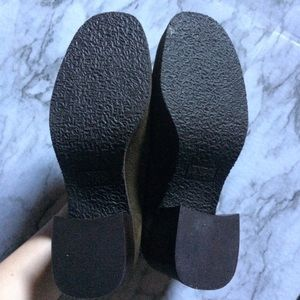 Enzo Angiolini Shoes - Enzo Angiolini Green Heeled Loafers